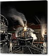 Coming In Tonight Canvas Print