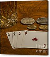 Coming Up Aces Canvas Print