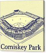 Comiskey Park 1910 Canvas Print