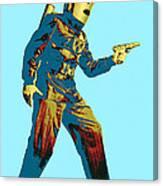 Commando Cody 2 Canvas Print