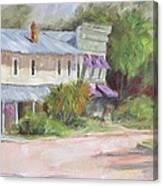 Commerce Street Apalach Canvas Print