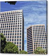 Commercial Office Building Canvas Print