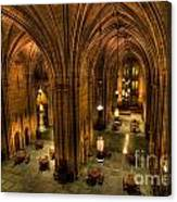 Commons Room Cathedral Of Learning University Of Pittsburgh Canvas Print