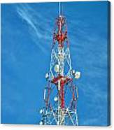 Communications Mast Hua Hin Canvas Print