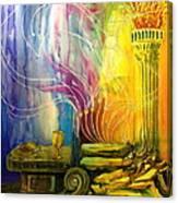 Communion Table Canvas Print