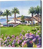 Community Center At Del Mar Canvas Print