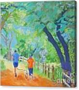 Community On The Run Canvas Print