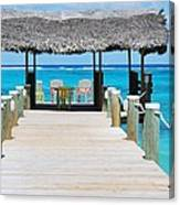 Tranquility At Compass Point, Nassau, Bahamas Canvas Print