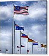 Competing Countries V2 Canvas Print