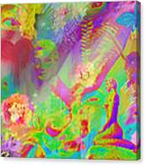 Complete Lovely Mayhem Canvas Print