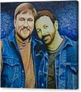 Complete_portrait Of Craig And Ron Canvas Print