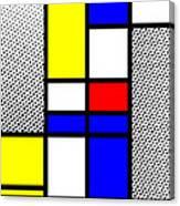 Composition 112 Canvas Print