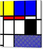 Composition 113 Canvas Print