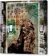Composition Based On Angkor History Canvas Print