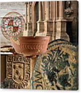 Composition For Poster Xiv Jornadas De Estudios Calagurritanos Canvas Print