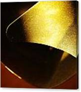 Composition In Gold Canvas Print