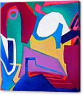 Composition In See Canvas Print