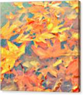 Computer Generated Image Of Autumn Canvas Print