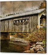 Comstock Bridge 2012 Canvas Print