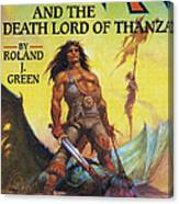 Conan And The Death Lord Of Thanza 1997 Canvas Print