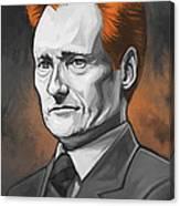 Conan O'brien Artwork Canvas Print