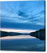 Concord Blue Hour Reflections Canvas Print