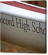 Concord High School Canvas Print