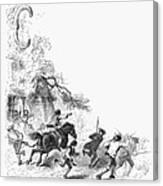 Concord: Minutemen, 1775 Canvas Print