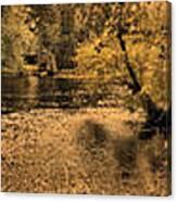 Concord River At Old North Bridge Canvas Print