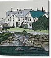 Concordville From Short Sands Canvas Print
