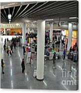 Concourse At People's Square Subway Station Shanghai China Canvas Print