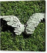 Concrete Angel Canvas Print