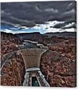 Concrete Canyon Canvas Print