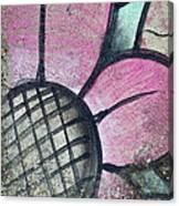 Concrete Flowers Canvas Print