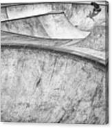 Concrete Slider Canvas Print