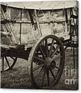 Conestoga Wagon Canvas Print