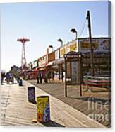 Coney Island Memories 8 Canvas Print