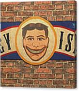 Coney Island Sign Canvas Print