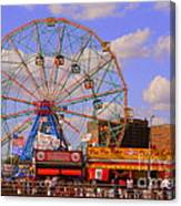 Coney Island Wonder Wheel Canvas Print