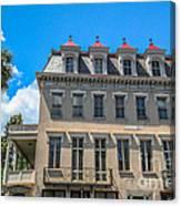 Charleston Confederate Home Canvas Print