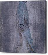 Soldier Statue Vii Alabama State Capitol Canvas Print