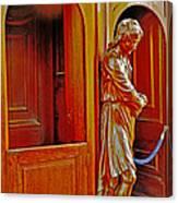 Confessional Halo Canvas Print