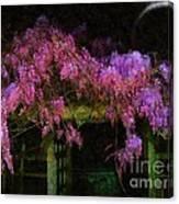 Confetti Of Blossoms Canvas Print