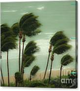 Confronting The Winds Canvas Print