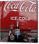 Confused Cola Canvas Print