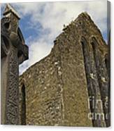 Cong Abbey, Ireland Canvas Print