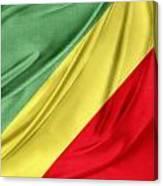Congo Flag Canvas Print