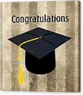 Congratulations Graduate Canvas Print