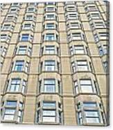 Congress Plaza Hotel Windows Canvas Print