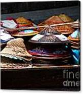 Conical Hats 01 Canvas Print